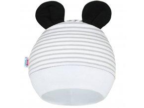 Detská čiapočka New Baby Panda