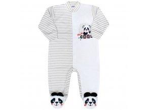 Dojčenský overal New Baby Panda