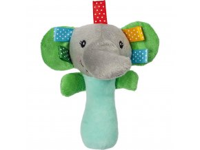 Plyšová hračka s pískatkom Akuku slon