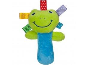 Plyšová hračka s pískatkom Akuku žabka