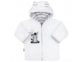 Luxusný detský zimný kabátik s kapucňou New Baby Zebra