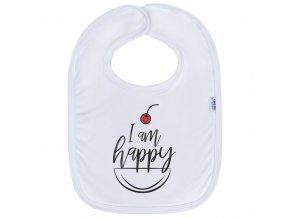 Detský podbradník New Baby I am happy