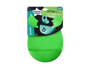 Plastový podbradník Tommee Tippee Explora zelený