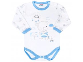 Dojčenské body New Baby Bears modré