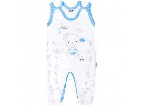 Dojčenské dupačky New Baby Bears modré