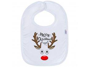 Detský podbradník New Baby Merry Christmas