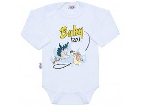 Body s potlačou New Baby Baby taxi