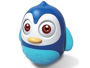 Kývajúca hračka Baby Mix tučniak blue