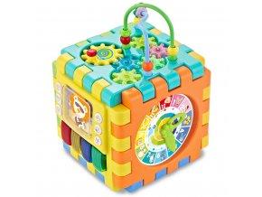 Interaktívna hracia kocka Baby Mix veľká