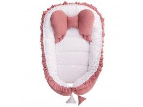 Hniezdočko pre bábätko Belisima Angel Baby ružové