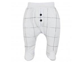 Dojčenské bavlnené polodupačky Koala MILK biele
