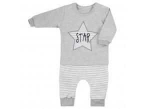 Tepláčky a tričko Koala Star sivé