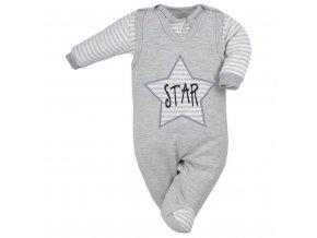 2-dielna dojčenská súprava Koala Star sivá