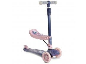 Detská kolobežka 2v1 Toyz Tixi pink