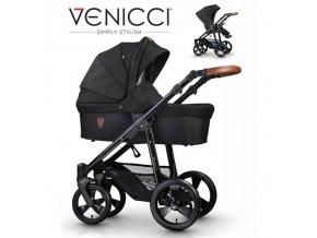 VENICCI - Gusto Black 2021 + zľava až do výšky-100 eur / napíšte nám  Iba u nás Náhradný kočík pri reklamácii / ku kočíku zľava-20% na ostatný tovar až 2 roky
