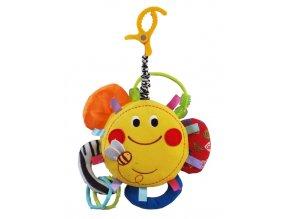 Edukačná plyšová hračka Baby Mix slniečko
