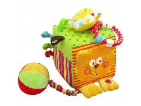 Interaktívna hračka Baby Mix kocka mačka