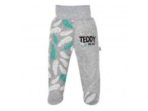 Dojčenské bavlnené polodupačky New Baby Wild Teddy