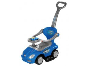 Detské hrajúce odrážadlo 3v1 Baby Mix blue