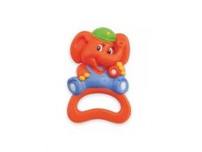 Detská hrkálka Baby Mix sloník