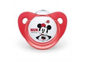 Cumlík Trendline NUK Disney Mickey Minnie 6-18m červený Box