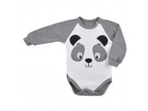 Kojenecké body s dlouhým rukávem Koala Panda