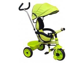 Detská trojkolka Baby Mix Ecotrike green (poškodený obal)