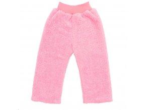 Zimné detské tepláčky New Baby Penguin ružové