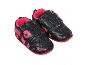 Detské capáčky Bobo Baby 12-18m čierne