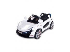 Elektrické autíčko Toyz Aero - 2 motory a 2 rýchlosti biele