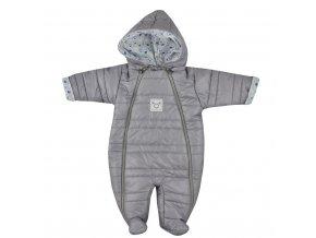 Zimná dojčenská kombinéza Koala Pumi chlapec modrá