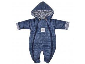 Zimná dojčenská kombinéza Koala Pumi modrá