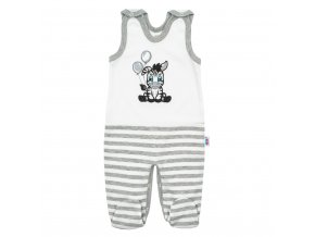 Dojčenské bavlnené dupačky New Baby Zebra exclusive
