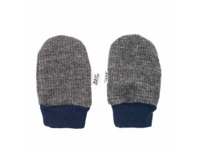 Zimné dojčenské rukavičky Baby Service Retro sivé