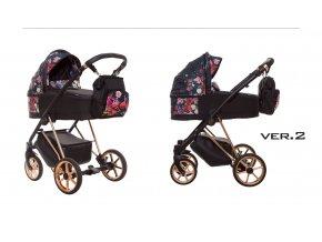 Baby Active - Musse Dark Rose 2020 + zľava až do výšky-100 eur / napíšte nám !  Iba u nás Náhradný kočík pri reklamácii / ku kočíku zľava na ostatný tovar až 2 roky
