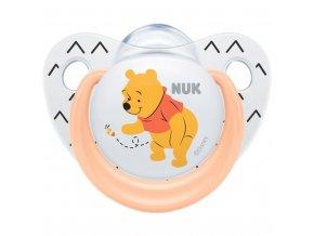 Dojčenský cumlík Trendline NUK Disney Medvedík Pú 6-18m ružový BOX