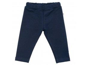 Dojčenské bavlnené legíny New Baby Leggings tmavo modré