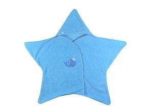 Detská osuška Koala Nice Star modrá
