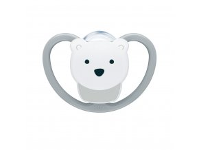 Cumlík Space NUK 6-18m ľadový medveď BOX