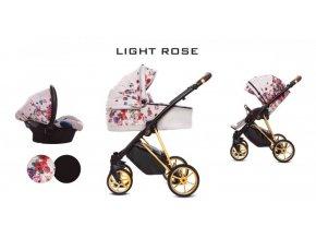 Baby Active - Musse Light Rose 2021 + ZĽAVA AŽ DO VÝŠKY-100 EUR-NAPÍŠTE NÁM + VÝBAVA ZDARMA + BONUS 40 EUR  Iba u nás Náhradný kočík pri reklamácii / ku kočíku zľava-20% na ostatný tovar až 2 roky