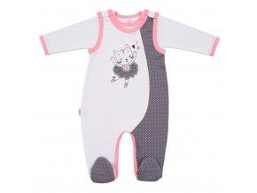 2-dielna bavlnená súprava New Baby Ballerina