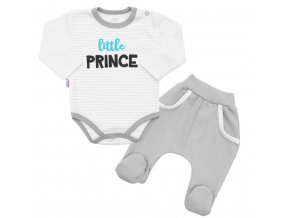 2-dielna bavlnená súprava New Baby Little Prince