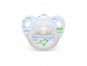 Dojčenský cumlík  NUK Happy Days 0-6m zelený BOX