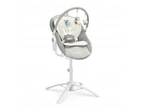 Detská jedálenská stolička 3v1 Caretero Kivi grey