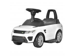 Elektrické autíčko-odrážadlo 2v1 BAYO Range Rover Sport SVR white