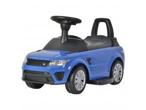 Elektrické autíčko-odrážadlo 2v1 BAYO Range Rover Sport SVR blue