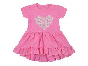 Dojčenské letné šaty Koala Emma ružové