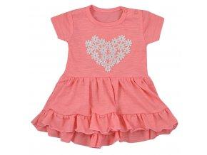 Dojčenské letné šaty Koala Emma svetlo ružové