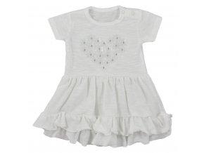 Dojčenské letné šaty Koala Emma biele