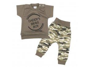 2-dielna dojčenská súprava New Baby Army boy